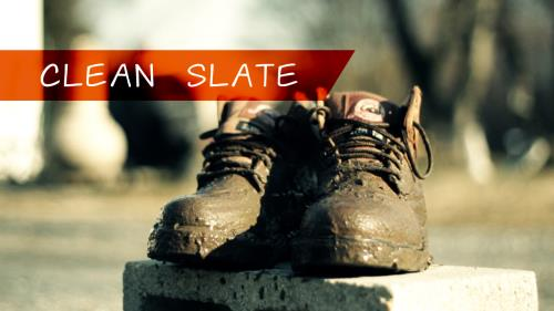 view the Video Illustration Clean Slate