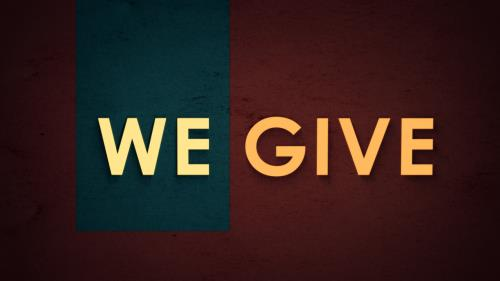 Video Illustration on We Give