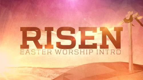 Video Illustration on Risen Worship Intro