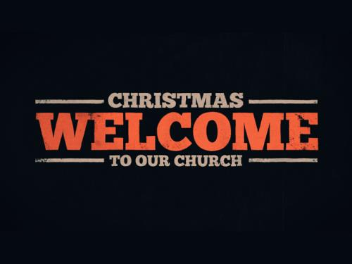 media Welcome To Our Church - Christmas
