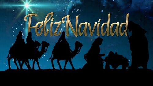 view the PowerPoint Template Feliz Navidad