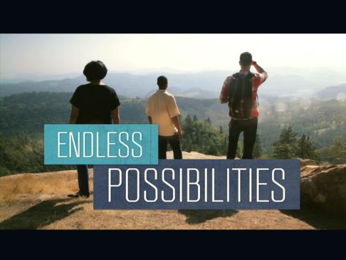 Video Illustration on Endless Possibilities