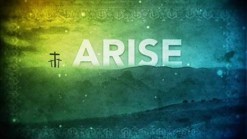 Video Illustration on Arise Worship Intro