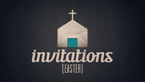 Video Illustration on Invitations (Easter)