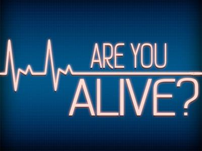 PowerPoint Template on Are  You  Alive