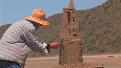 Video Illustration on Sandcastles