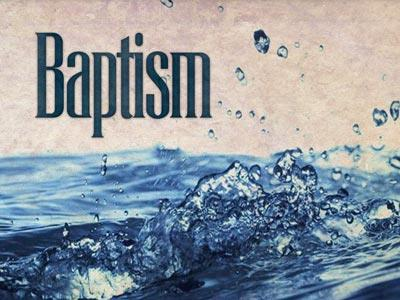 PowerPoint Template on Baptism 4