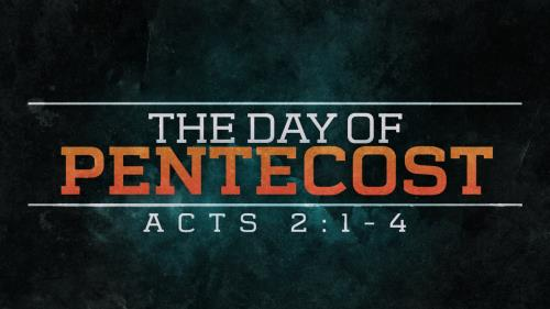 Video Illustration on The Day Of Pentecost