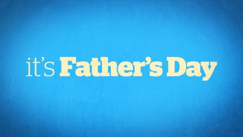 Video Illustration on It's Father's Day