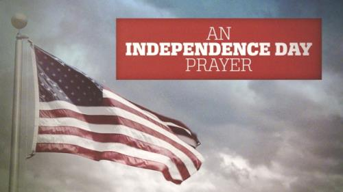 view the Video Illustration An Independence Day Prayer