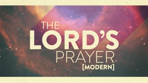 view the Video Illustration The Lord's Prayer - Modern