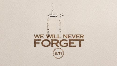 Video Illustration on September 11: Never Forget