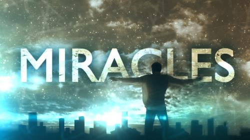 view the Video Illustration Miracles Worship Intro