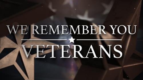 view the Video Illustration We Remember You (Veterans Day)