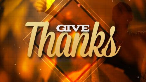 Video Illustration on Give Thanks