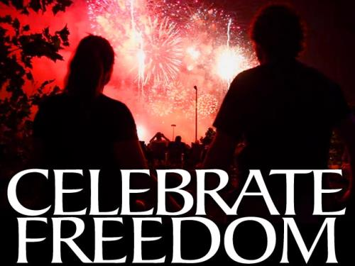 Video Illustration on Celebrate Freedom