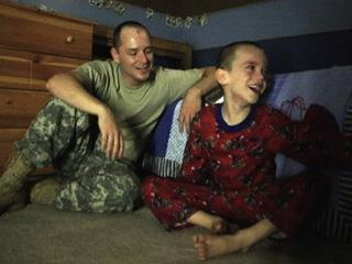 view the Video Illustration A Father Deployed