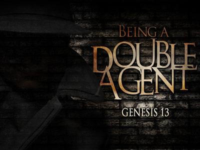 PowerPoint Template on Being A  Double  Agent