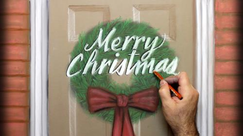 view the Video Illustration We Wish You A Merry Christmas