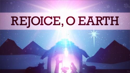 Video Illustration on Rejoice O Earth