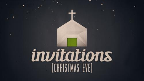 Video Illustration on Invitations (Christmas Eve)