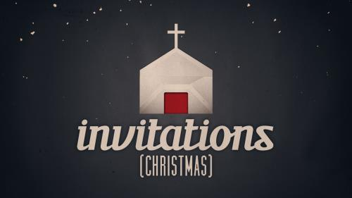 Video Illustration on Invitations (Christmas)