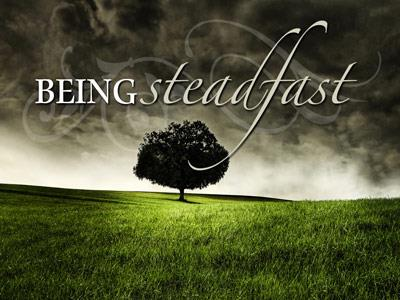 PowerPoint Template on Being  Steadfast