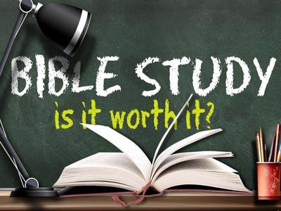 PowerPoint Template on Bible Study