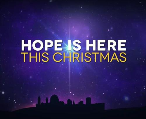 Video Illustration on Hope Is Here This Christmas