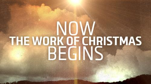 view the Video Illustration Now The Work Of Christmas Begins