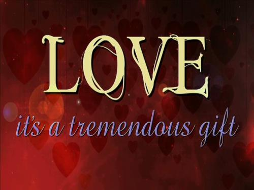 view the Video Illustration Valentine's Day: Tremendous Gift