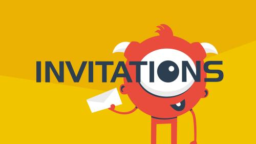 view the Video Illustration Invitations (Student)