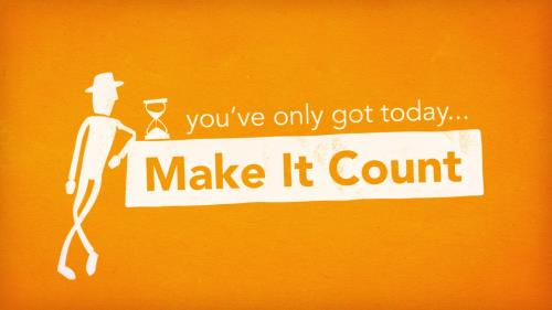 Video Illustration on Make It Count