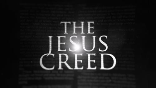 view the Video Illustration The Jesus Creed