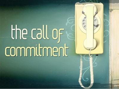 PowerPoint Template on Call Of  Commitment