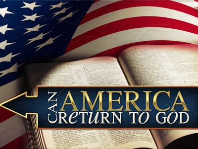 PowerPoint Template on Can  America  Return To  God