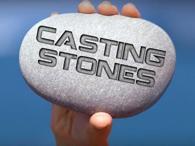 PowerPoint Template on Cast  Stones