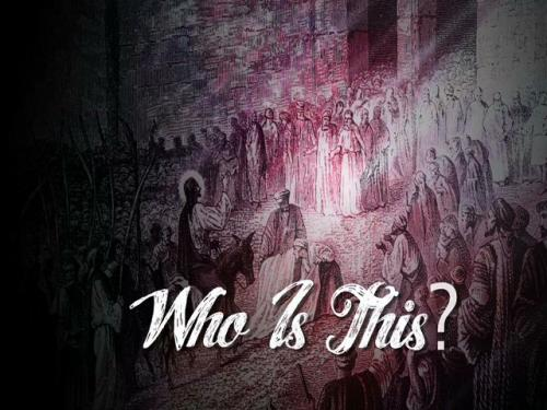 view the Video Illustration Palm Sunday: Who Is This
