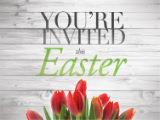 PowerPoint Template on You're Invited (Easter)