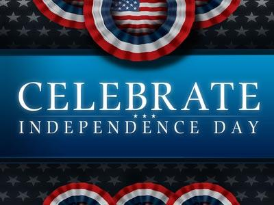 PowerPoint Template on Celebrate  Independence  Day