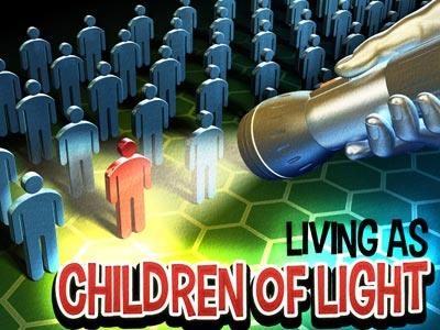 view the PowerPoint Template Children Of  Light