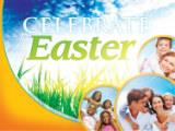 PowerPoint Template on Circles Easter