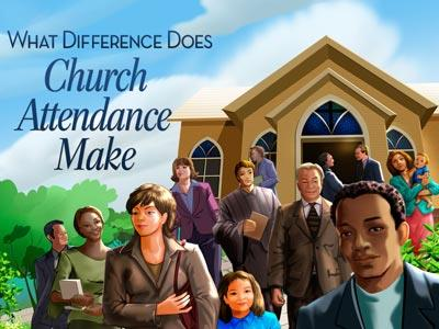 PowerPoint Template on Church Attendance