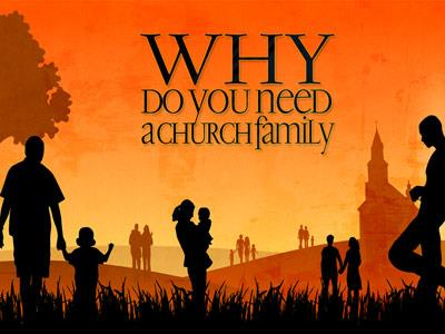 PowerPoint Template on Church Family
