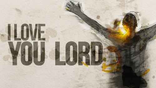 Video Illustration on I Love You Lord Worship Intro