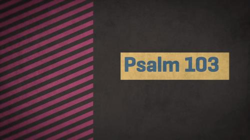 view the Video Illustration Psalm 103