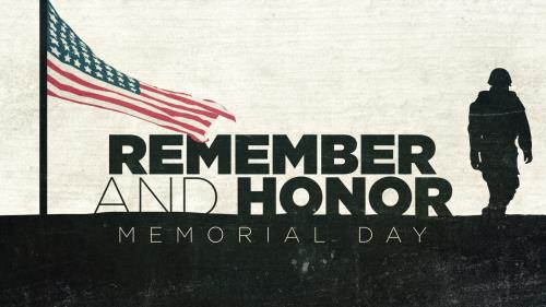Video Illustration on Remember And Honor (Memorial Day)