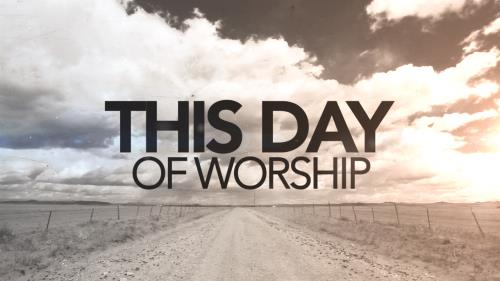 Video Illustration on This Day Of Worship