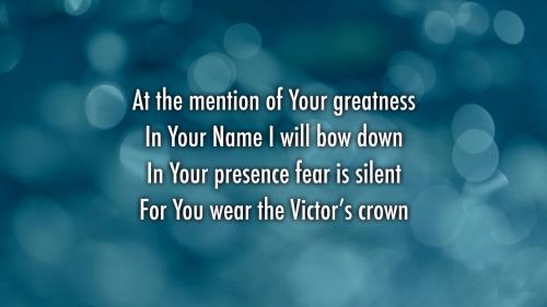 view the Worship Music Video Victor's Crown