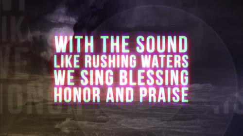 Worship Music Video on Rushing Waters